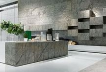 Axolotl Stone / Axolotl Stone is a new lightweight surfacing treatment that revolutionises how natural stone can be used in architecture and design. The stone sheets are extremely flexible allowing stone to be used in unique designs at a fraction of the cost of solid stone.