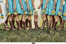 Cowboy Wedding Ideas / Wedding ideas for the Cowgirls and Cowboys getting hitched on that special day!