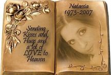 ~ Dedicated to My Daughter Natassia Da Silva 01.08.1983 ~ 29.08.2007 ~ / In loving memory of my best friend Tassy  ~ Gone much too soon  ~ With love Always my precious ANGEL ~ / by ~ Belinha ~