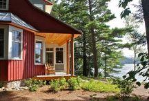 Lake cabins & Beach houses