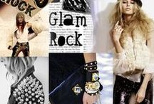 Glam Rock / Tendência glam rock é uma das mais marcantes no Mundo da Moda. Com inspiração no estilo musical que marcou os anos 70, o glam rock recria os brilhos e cabedais que marcaram esta época. #GlamRock