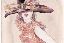 |[Fashion Illustrations]|