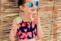 TODDLER GIRLS SWIM AND SURFWEAR /  A compilation of Toddlers Girls - Ages 0-6 Surfwear. Surf Outerwear and Surf/ Swim Styles.