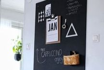 Do it | Blackboard Wall / Ideasm tips and inspiration if you are looking to paint a blackboard wall at home