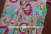 Handmade by Missionary Mom / sewing-diy-home decor,crocket and more..