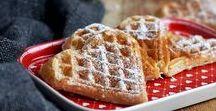 Waffeln - Waffles / Gemeinschaftsboard zum Thema Waffeln. Ob herzhaft oder süß, Hauptsache Waffelrezepte.