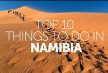 Travel Namibia / Blog posts, travel tips and ideas for a bucket list trip to Namibia.