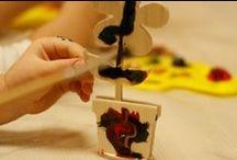 Творчество в Семейном центре МИКОЛКА / Здесь вы найдете идеи для творчества с вашими детьми.