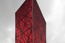 Red is the new Black / Red architecture, red building, arquitetura vermelha, vermelho, edificio vermelho, red building