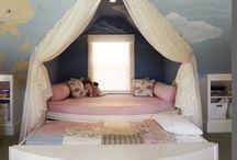 Bedroom, house, pool, furniture