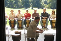 End Hum-Drum Meetings / From teambuilding activities, such as group drumming, to sightseeing and themed events, our professional staff can assist you in arranging a variety of group activities to enhance your meeting, conference or event. / by Cranwell Resort, Spa and Golf Club