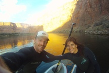 Fun Alternatives to Try on Your Trip! / Grand Canyon has big water and lots of nice calm and beautiful stretches. This makes it a fantastic river to try out different river toys from stand-up paddle boards, river boards, duckies and kayaks! Ceiba can rent you duckies, kayaks and stand-up boards! So get out there and try something new! You're gonna love it!