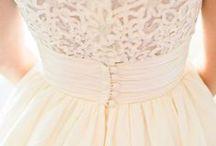 Hair and Wedding Dress
