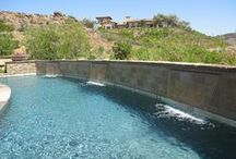 Custom Cascade PoolScapes & Standard Sheeting Waterfalls