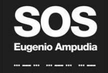 SOS. Eugenio Ampudia. / SOS es un proyecto en colaboración que aborda la preocupación que Eugenio Ampudia viene desarrollando en torno al tiempo, a la idea de finitud, en este caso asociada además a la idea de finitud del propio arte y del sistema que lo sustenta, que hoy se encuentra en un alarmante estado de peligro. Por ello, las instalaciones del Museo Nacional de Artes Decorativas funcionan aquí como una llamada de auxilio y reflexión existencial. (31/01/2014-27/04/2014).