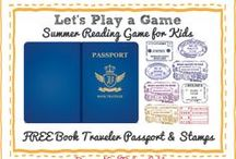 Summer Reading & Activities for Kids / Fun reading and summer activities, games and more for kids