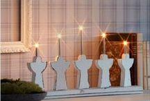 Christmas Time / Christmas light and decoration