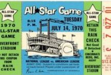 MLB All Star Game ticket stubs / Here but a few of the nearly 200 All Star Game ticket stubs found at TicketStubCollection.com  http://www.ticketstubcollection.com/ticket-stub-tags/all-star-game/