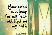 ~A Light Unto My Feet~ / Inspiring quotes...