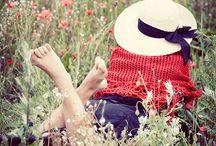 ~In the meadow~ / Feel the breezes...