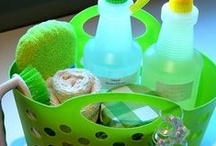 home made cleaning products / by Charlee Duggan