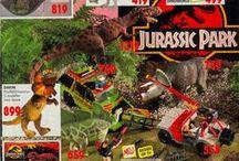Jurassic Park toy ads