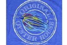 Original Oyster House T-Shirts / Most of our Comfort Colors T-Shirts are available to purchase in stores or online at  http://www.originaloysterhouse.com/store