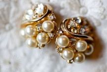 Vintage Earrings / Lovely earrings and accents