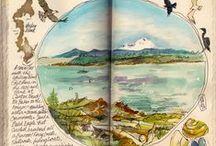 Art journal  Sketch Book