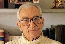 Leo Lionni / Leo Lionni (Ámsterdam, 1910, Toscana, 1999) fue un relevante diseñador gráfico, pintor e ilustrador y creador de libros infantiles.Desde finales de los años cincuenta publicó varios libros infantiles, en general de técnica sencilla, como la mancha de color o el collage de aspecto relativamente simple. En la primera técnica sobresale Pequeño Azul y Pequeño Amarillo.