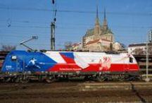 Vlaky, železnice
