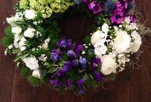 Funeral flowers / Sympathy flowers By Bernadine Coffey