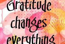 Gratitude ... thank you thank you thank you .... / So much to be grateful for ...