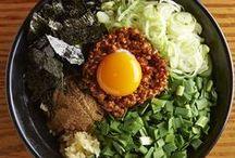Mix Ramen Noodles / Eating mix!