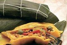 Hallacas / Nuestro plato emblemático, lo mejor de la venezuela culinaria, lo mejor de la unión de dos mundos, la mezcla, el mestizaje...