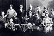 Oude familie foto's / Oude foto's uit onze eigen familie. (Jansen, Den Hartog, Wijand)