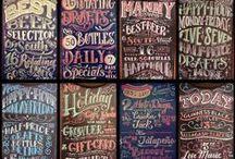 Chalkboard Decorating
