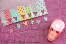 scrapbooking, journaling, sewing, craft projects / by Ashley Edlebeck