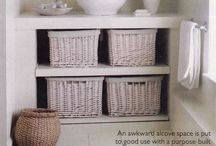 Decorating ideas for the downstairs loo / Decorating ideas for our small toilet  Pretty cloakroom ideas