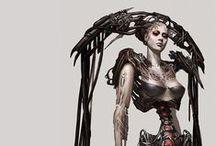 SCI-FI Fantasy / Diseños de ciencia ficción.