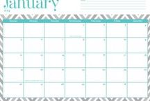 calendars and agendas and stuff