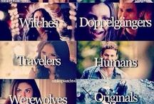 Vampires - Werewolves - Hybrids - Witches - Hunters - Humans - Travellers - Doppelgangers / The Vampire Diaries - The Originals - Supernatural