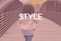 Life: Style / life, style, dressing, clothes, skirts, shirts, blouses, white, black, pants, how to style clothes on the go, how to style your closet for less, frugal clothes