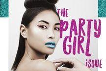 • THE PARTY GIRL issue • / 6ème numéro de Pample Studio http://pamplestudio.fr/issue-6-party-girl-2/