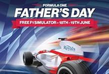The Royals Loves Father's Day / Celebrate your Dad's this June with superb shopping deals and events in Southend!