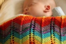 Knitted for baby
