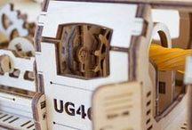 UGEARS hout modelbouw