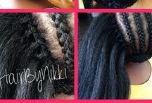 natural hair luks / by Mrs. Mitchell