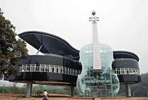 Interesting Homes / Fun and unusual design homes.