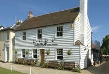 THE HOOP PUB / The Hoop Pub can be found in Stock Village in ESSEX ! Gasto/traditional pub with a 1AA Rosette Restaurant. Been a real ale House for over 450 years